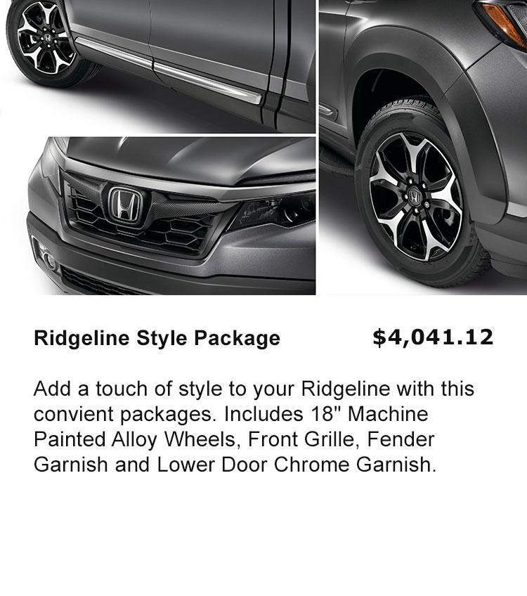 Ridgeline Style Package