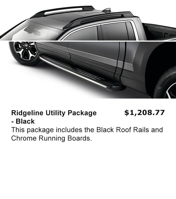 Ridgeline Utility Package - Black