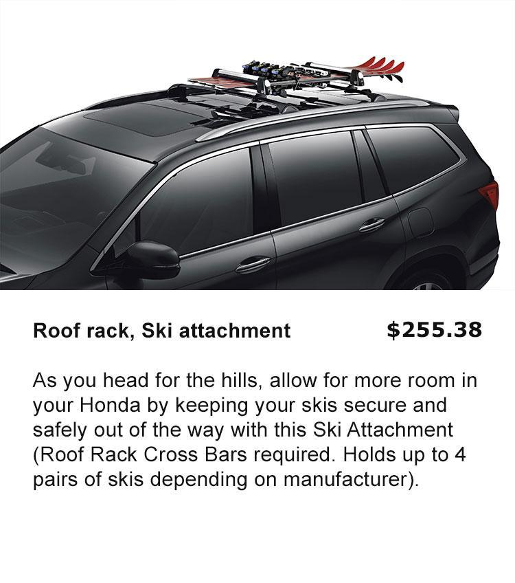 Roof rack Ski Attachment