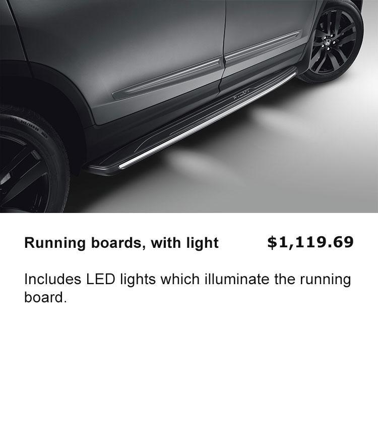 Running Board with Light