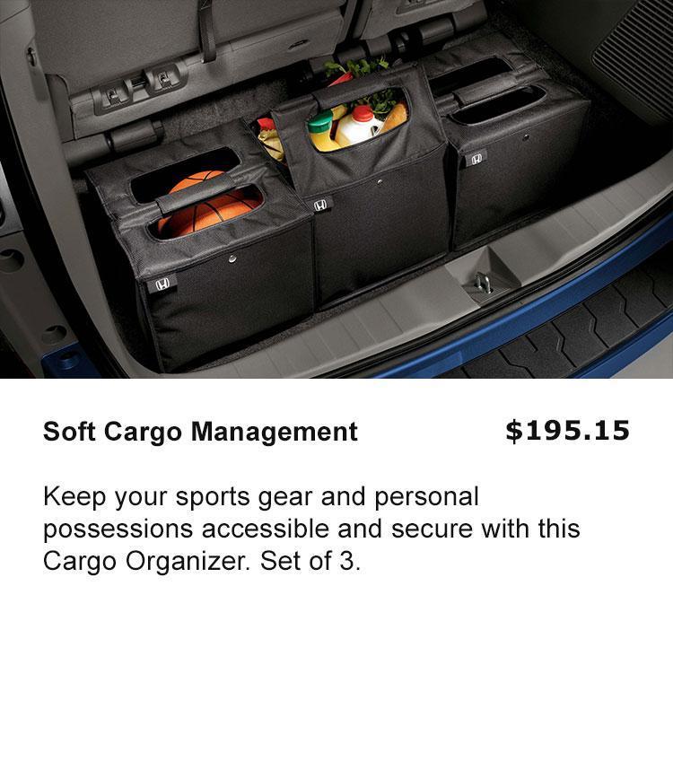 Cargo Soft Organizer