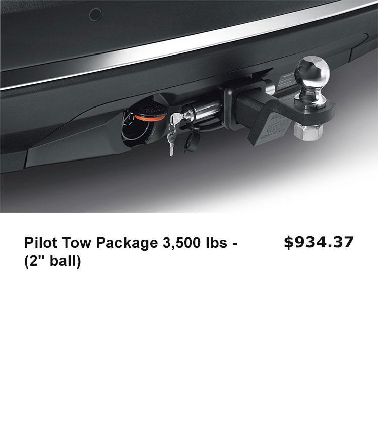 """Pilot Tow Package 3,500 lbs - (2"""" ball)"""