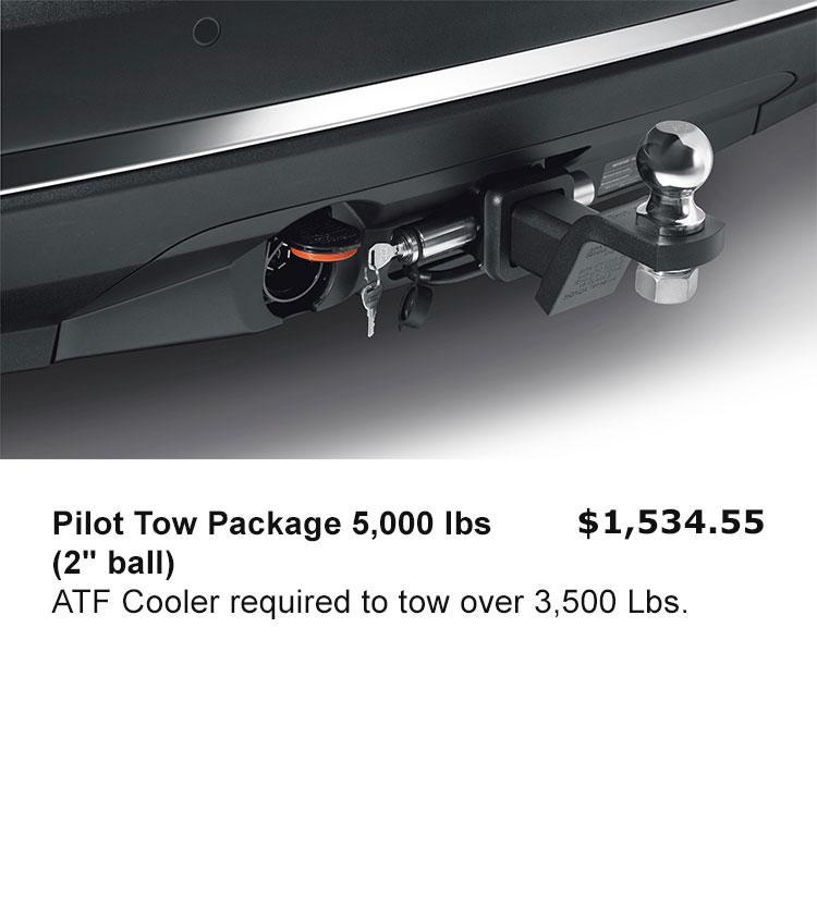"""Pilot Tow Package 5,000 lbs (2"""" ball)"""