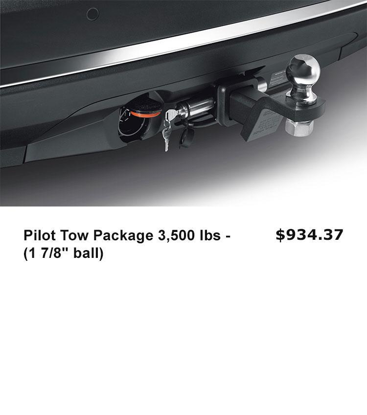 "Pilot Tow Package 3,500 lbs - (1 7/8"" ball)"