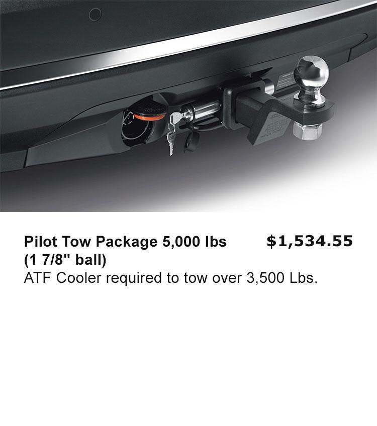 """Pilot Tow Package 5,000 lbs (1 7/8"""" ball)"""