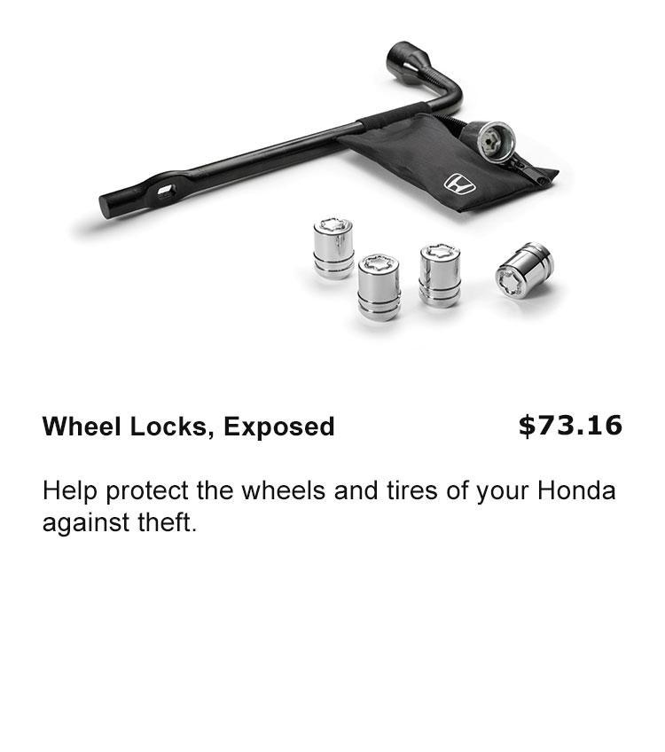 Wheel Locks, Exposed