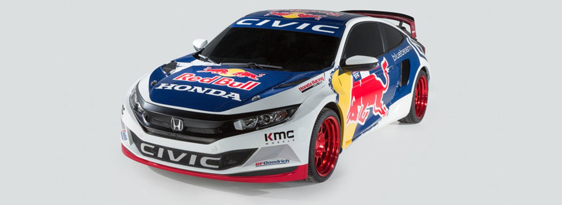 The Red Bull Rallycross Civic
