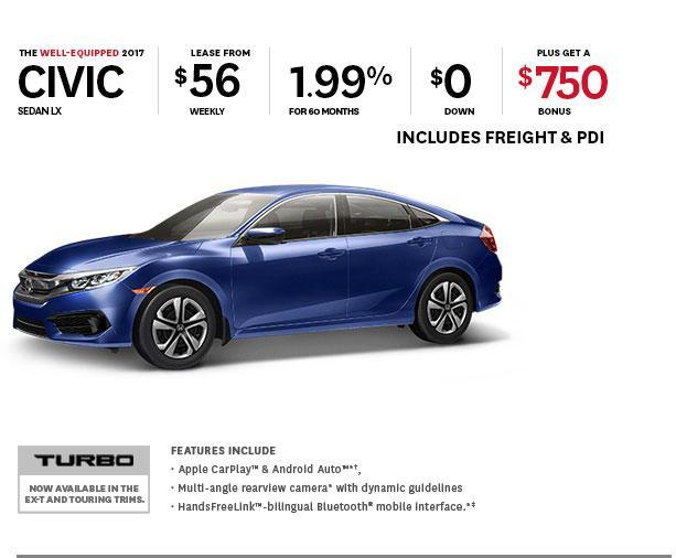 Civic Offer