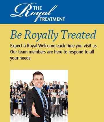 Royalty Treatment