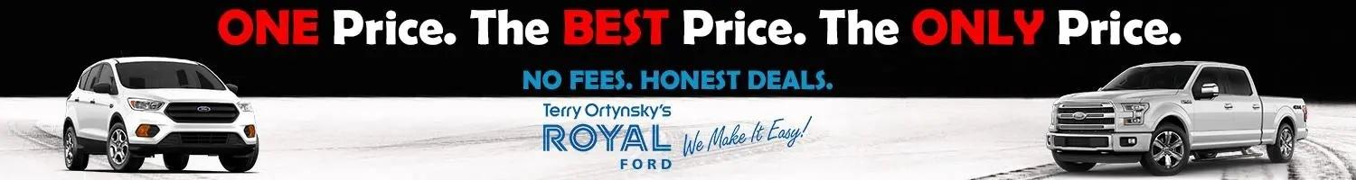 Terry Orynsky Royal Ford sales banner