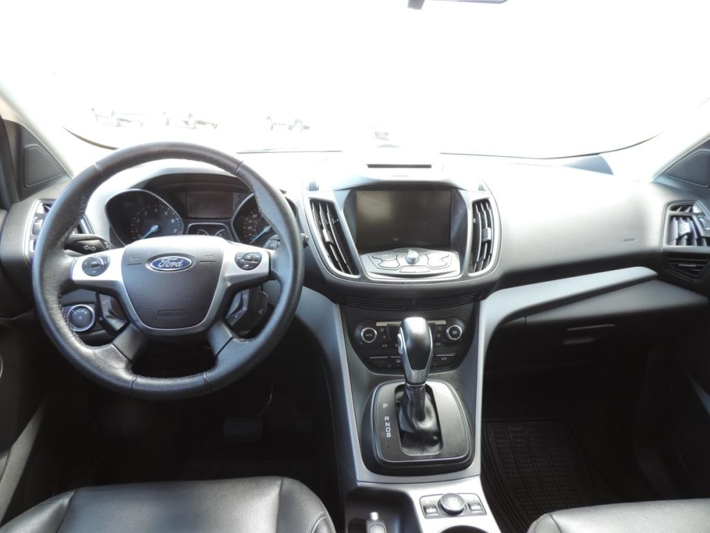 Interior of Ford Vehicle