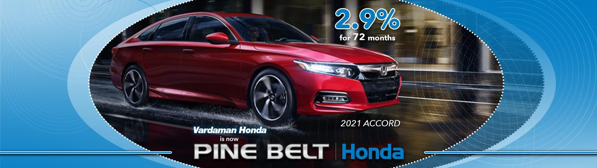 2021 Honda Accord Finance Offer