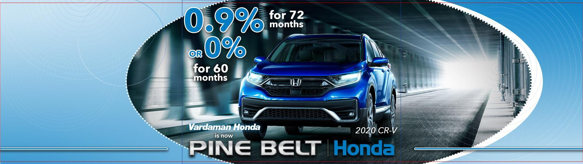 2020 Honda CR-V Finance Offer