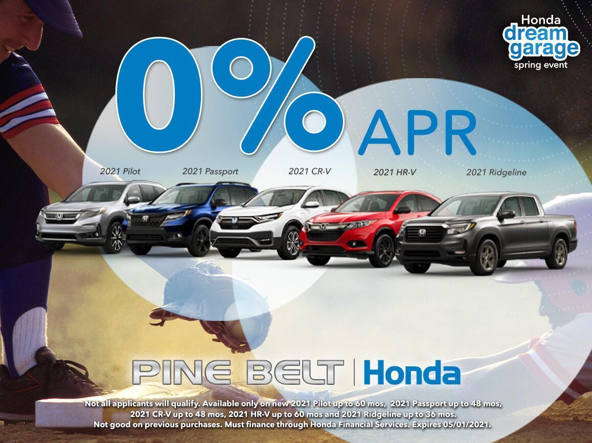 Honda Dream Garage Sales Event | Pine Belt Honda