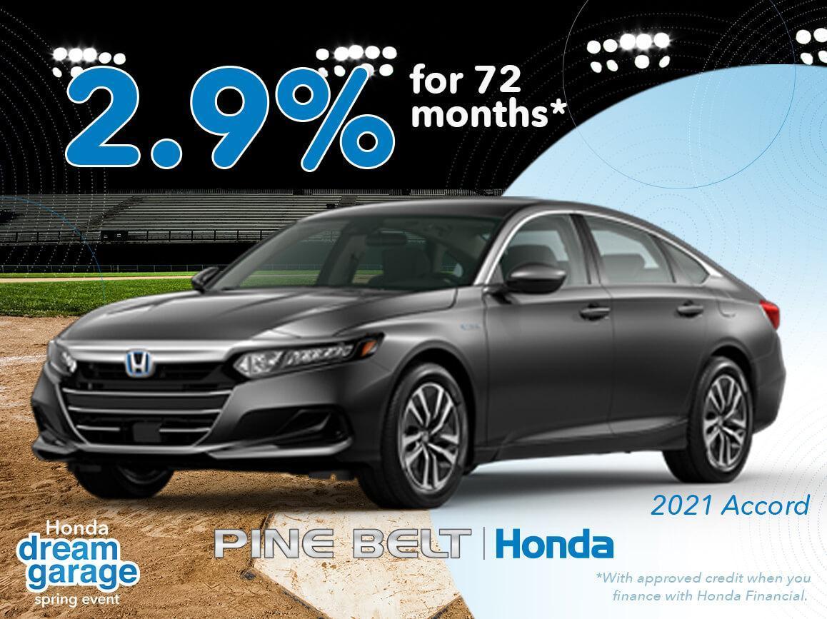 2021 Honda Accord Finance Offer