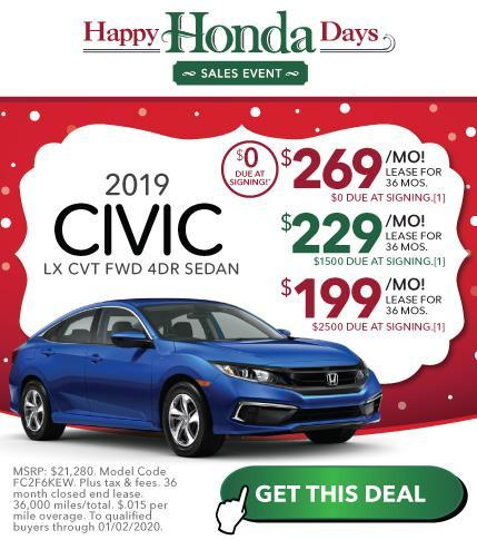 New Honda Civic Offer Vardaman Honda Hattiesburg