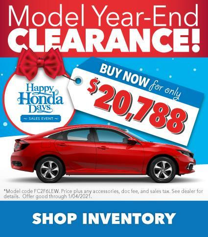 Civic Offer during Happy Honda Days at Vardaman Honda