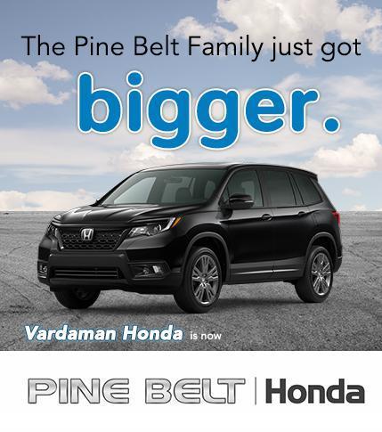 Vardaman Honda is now Pine Belt Honda