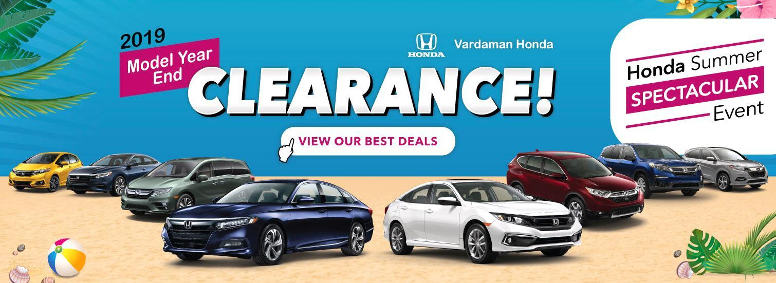 Shop New Hondas in Hattiesburg at Vardaman Honda