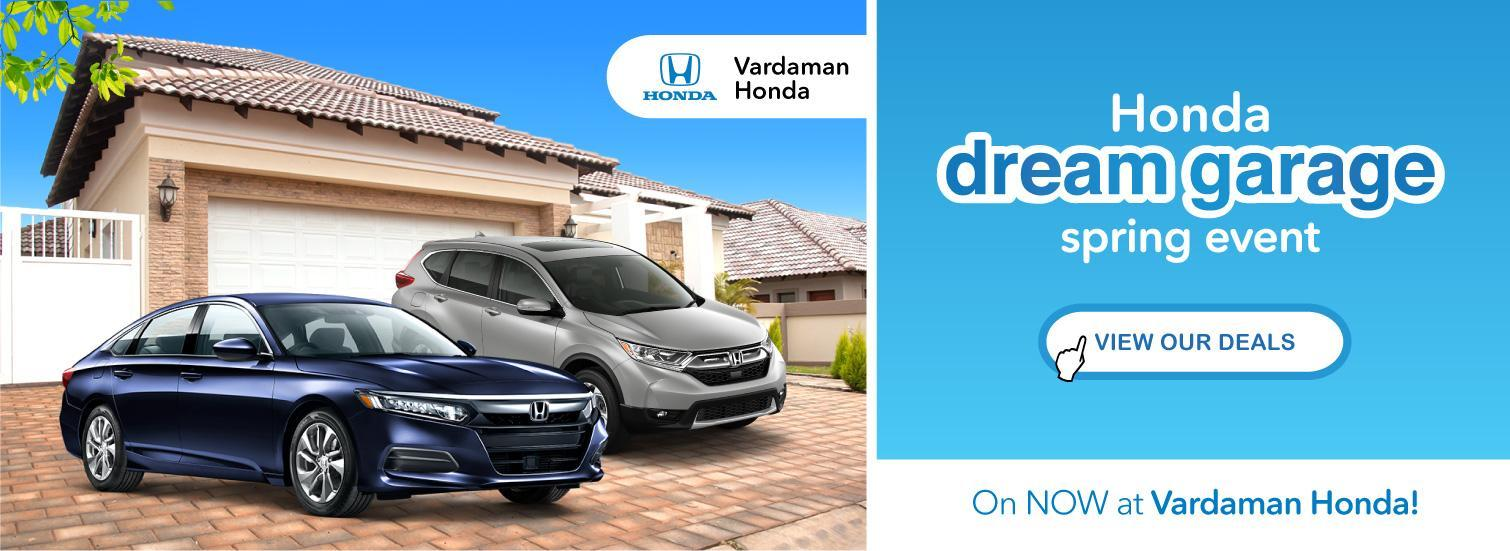 Dream Garage Spring Event at Vardaman Honda