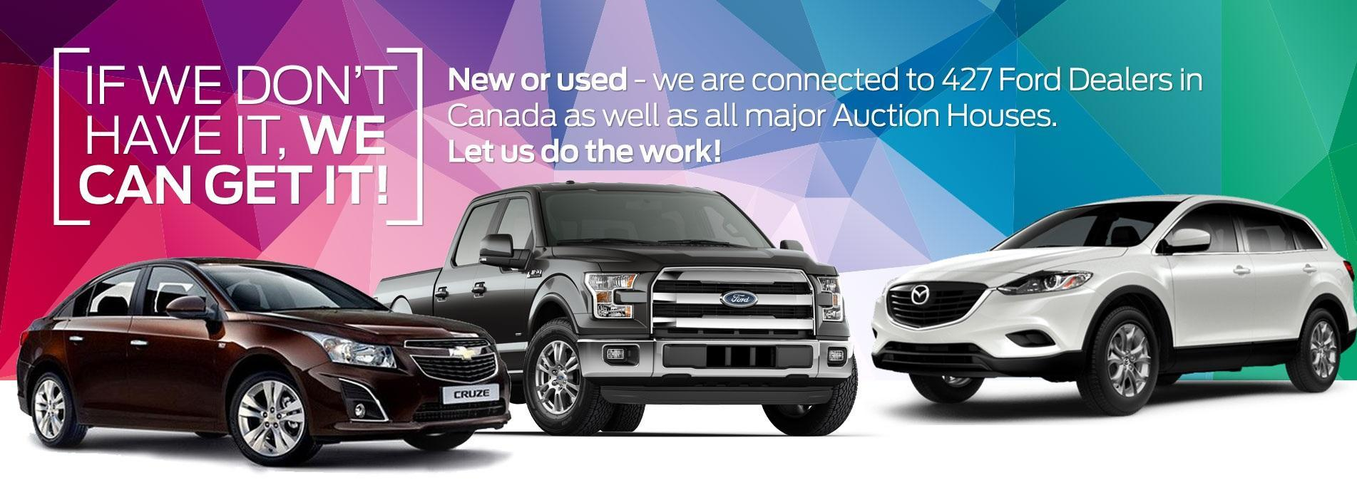 Ford If We Don't Have It, We Can Get It image