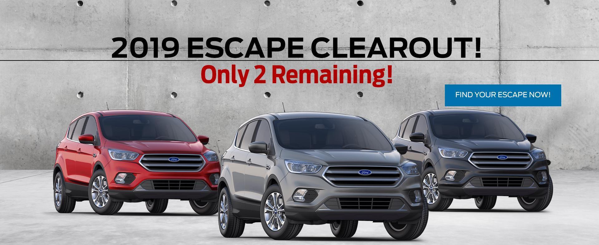 Norris Ford Escape Sale