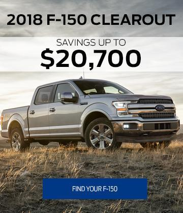 2018 F-150 Clearout