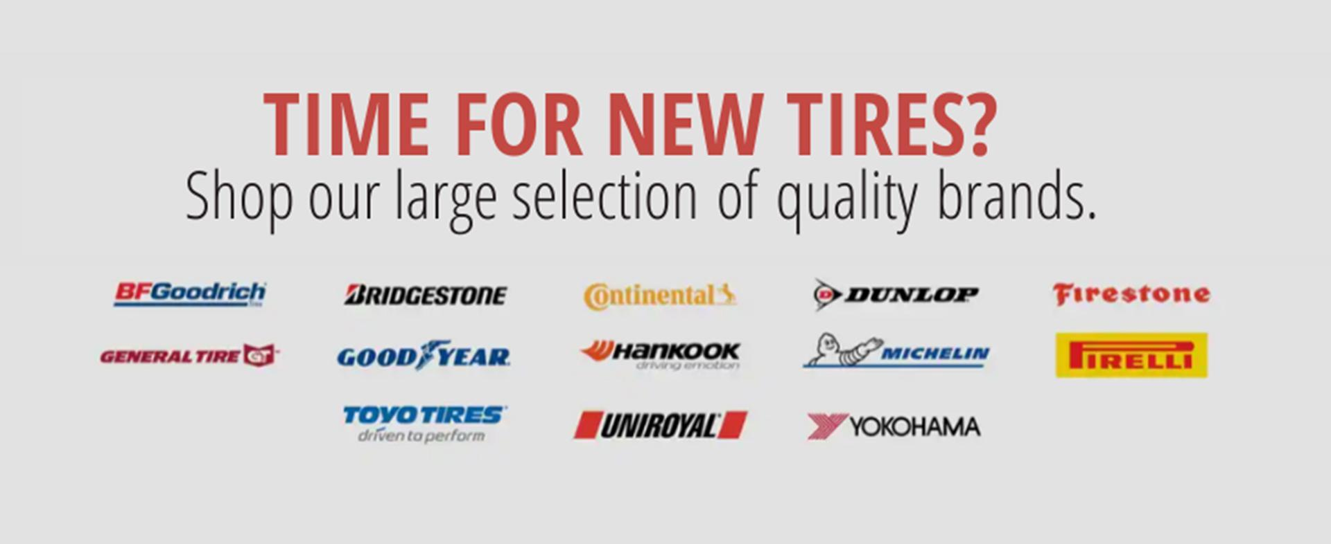 Tire Brands at Norris Ford