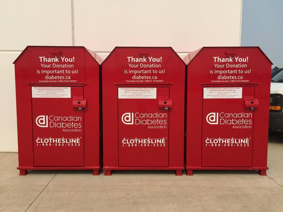 Diabetic Bins on Location