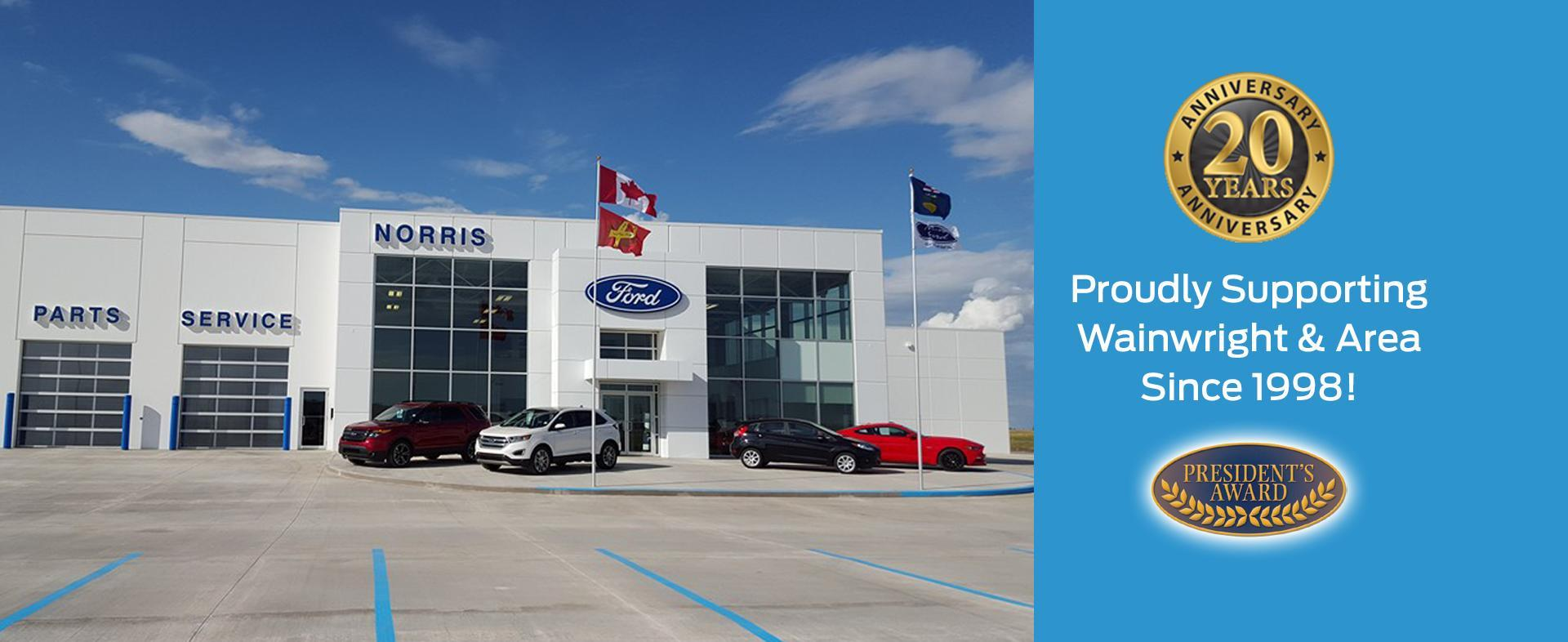 New & Used Ford Cars, Trucks & SUVs Dealership in Wainwright, AB