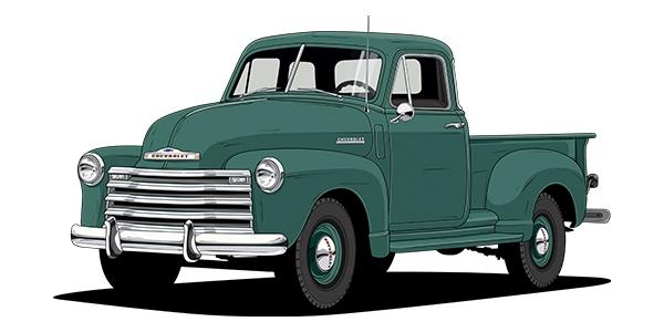 first chevy fleetside truck