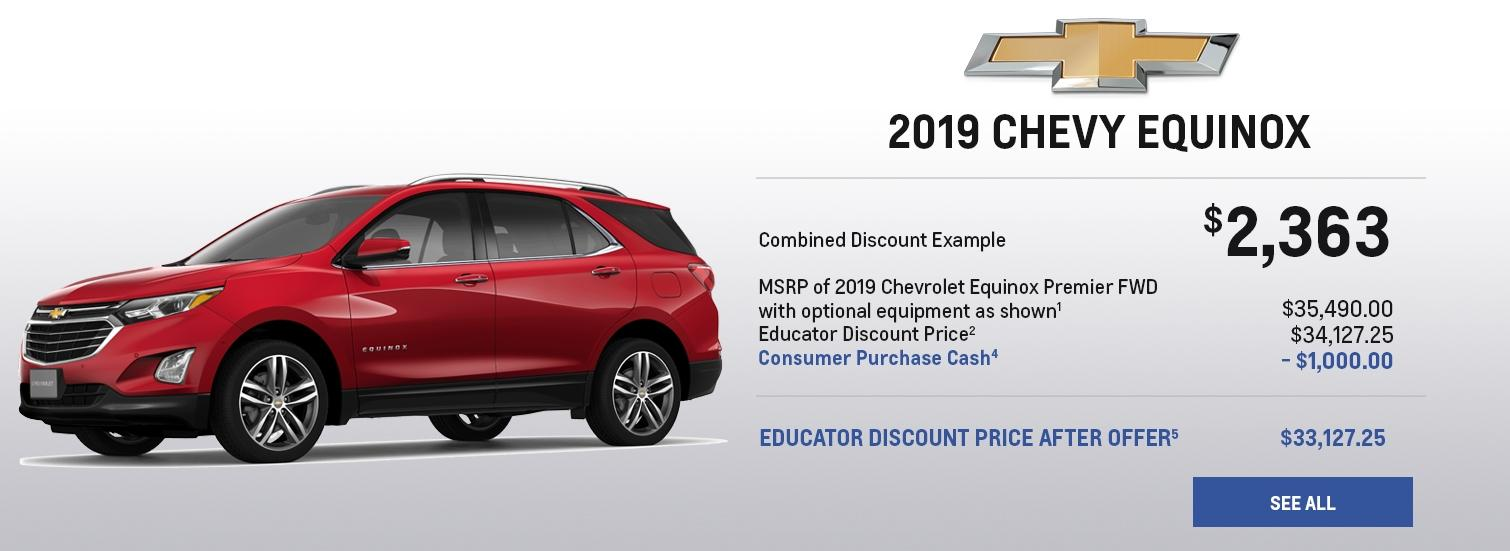 GM Educator Discount Provided by Chicagoland & Northwest