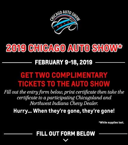 2019 Chicago Auto Show Ticket Giveaway   Chevy Drives Chicago