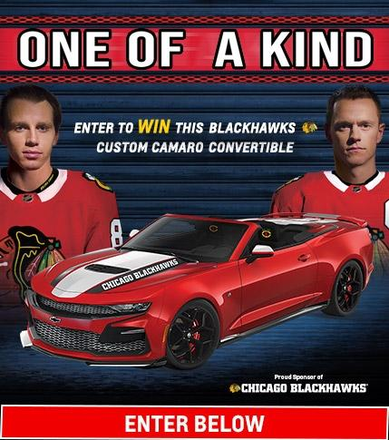 Blackhawks Chevrolet Camaro Giveaway | Chevy Drives Chicago