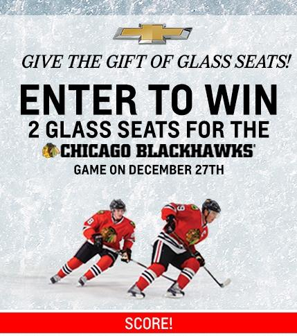 Chevy Blackhawks Sweepstakes | Chevy Drives Chicago