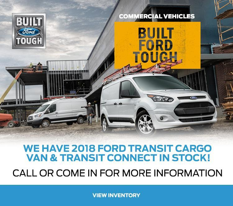 2018 Transit Coastal Ford Vancouver