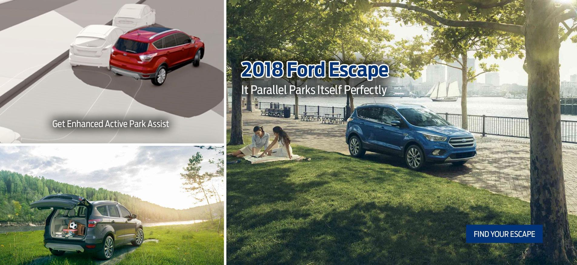 2018 Ford Escape at Westline Ford