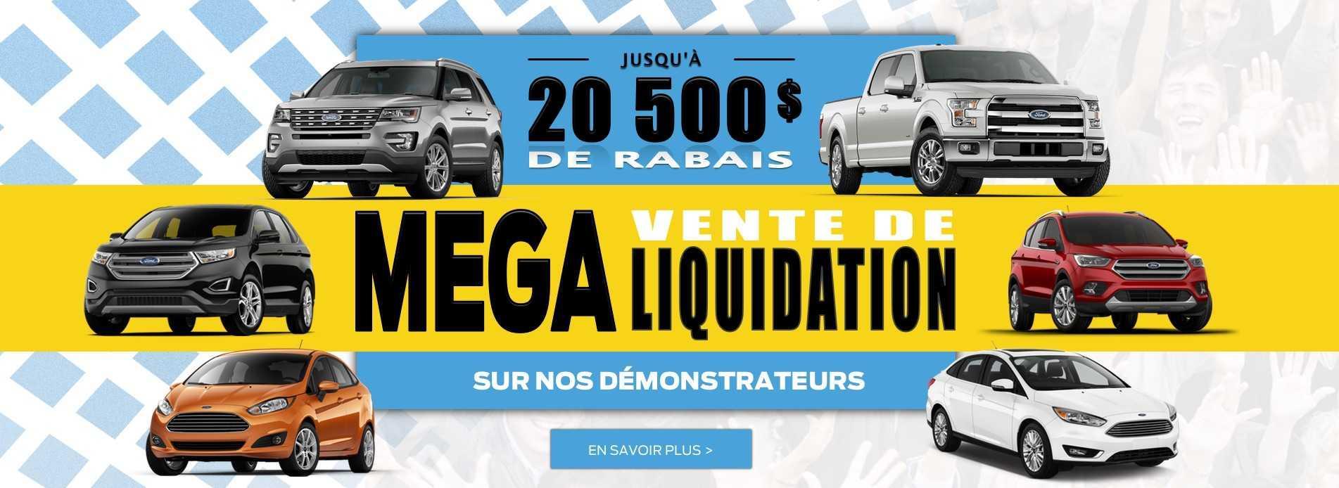 Méga Vente de Liquidation sur nos démonstrateurs