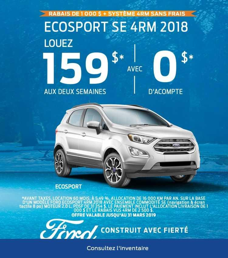 Offre mars 2019
