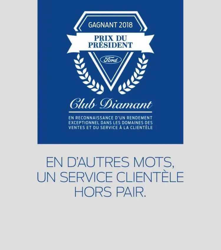 Club Diamant - Prix du Président 2018