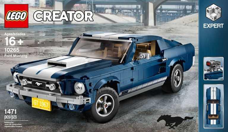 Vous voulez une Ford Mustang? Optez pour Lego!
