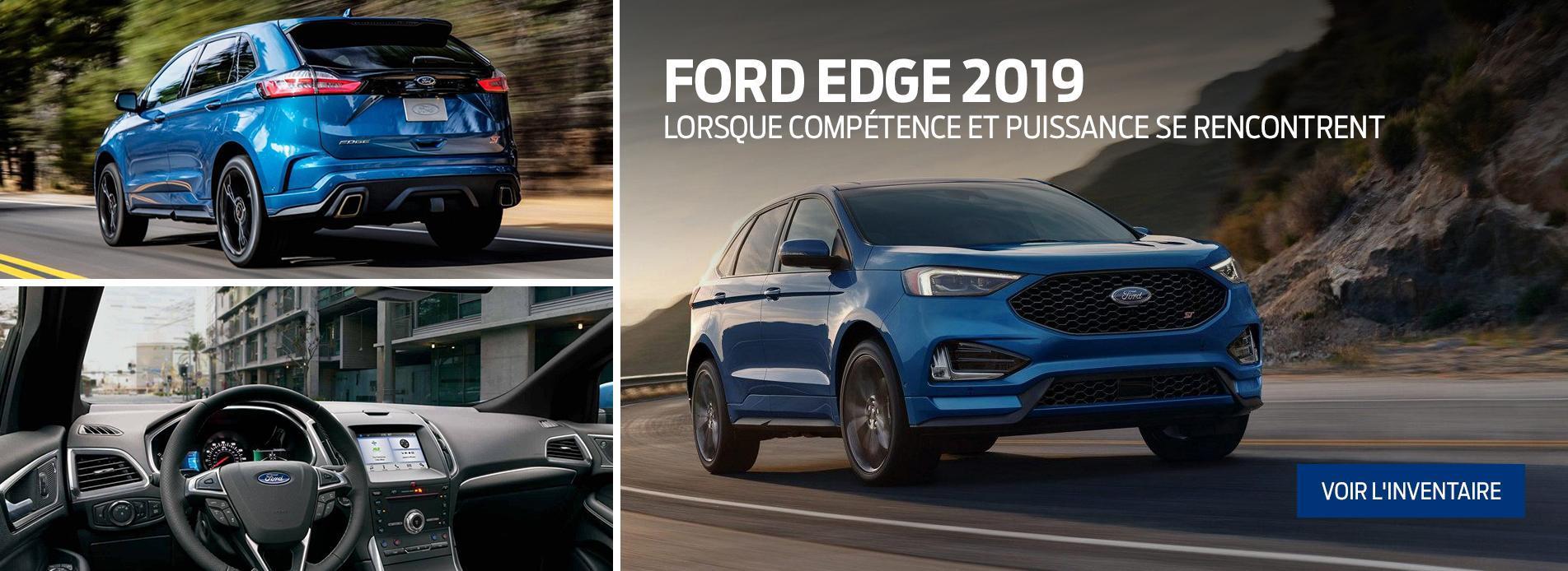 2019 – Ford Edge