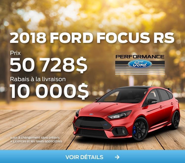 Nouveau 2018 Ford Focus RS Rouge Image