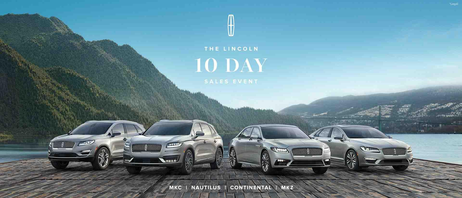 Lincoln 10 Day Sale Event