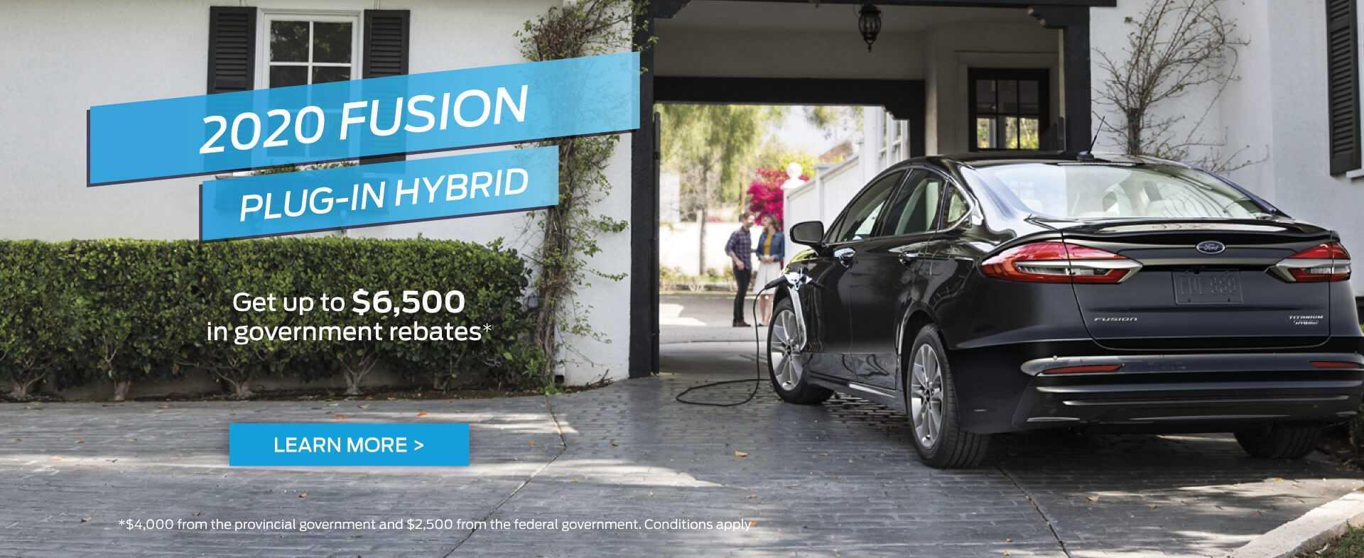 2020 Fusion Plug-In Hybrid