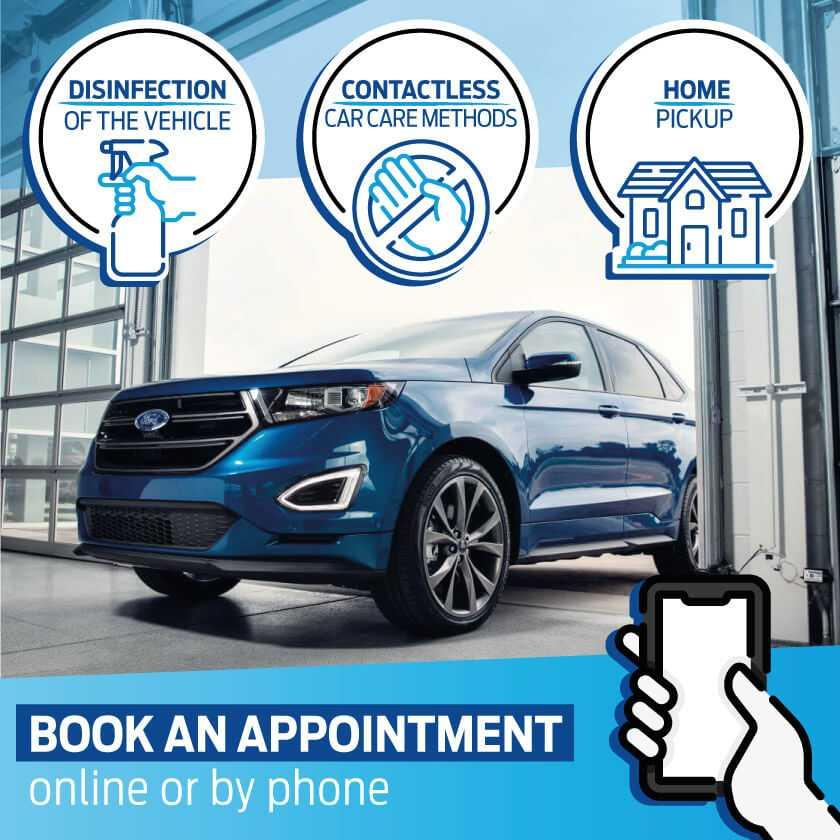 Ford & Lincoln Schedule Service image