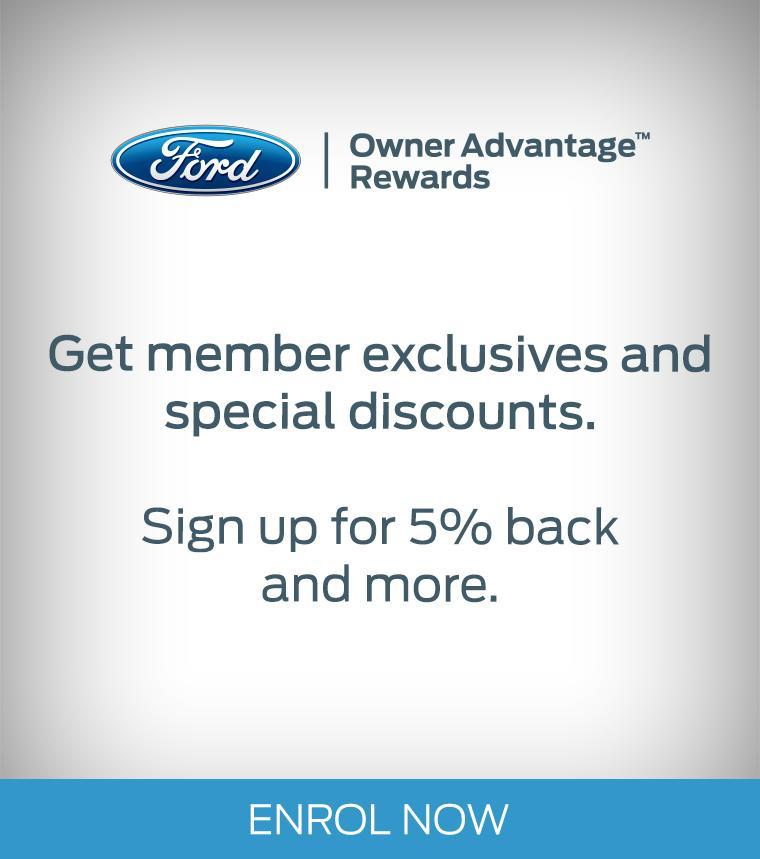 Owner Advantage Rewards MSA Ford Abbotsford