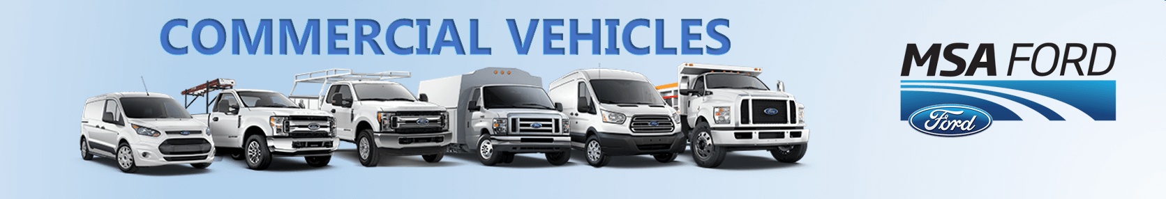 MSA Ford Commercial Vehicles Abbostford
