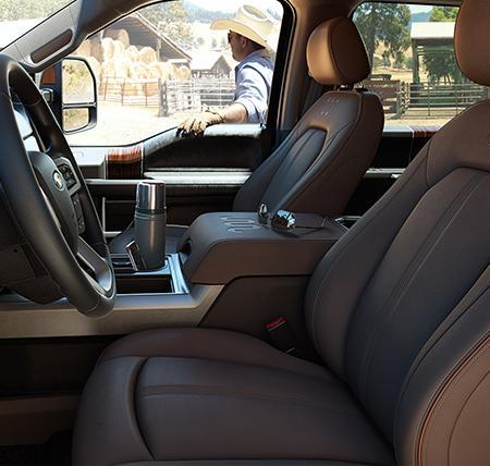 Ford Super duty Interior