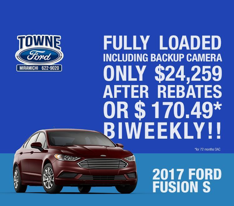 Fusion sale Towne Sales and Service